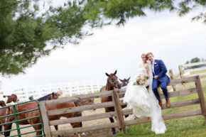 Halli and Matt – Just Married! – Irongate Equestrian Center, Ohio